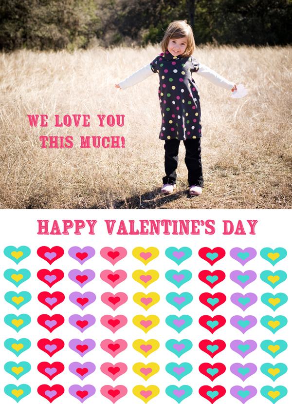 Happy Valentine's Day from Austin Family Photographer PhotoFrolic